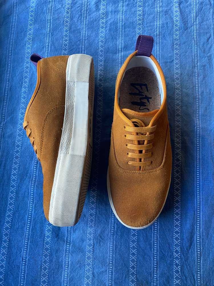 Eytys Eytys Mother Suede Camel Sneakers - image 3