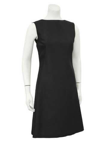 Lanz Black Cocktail Shift Dress
