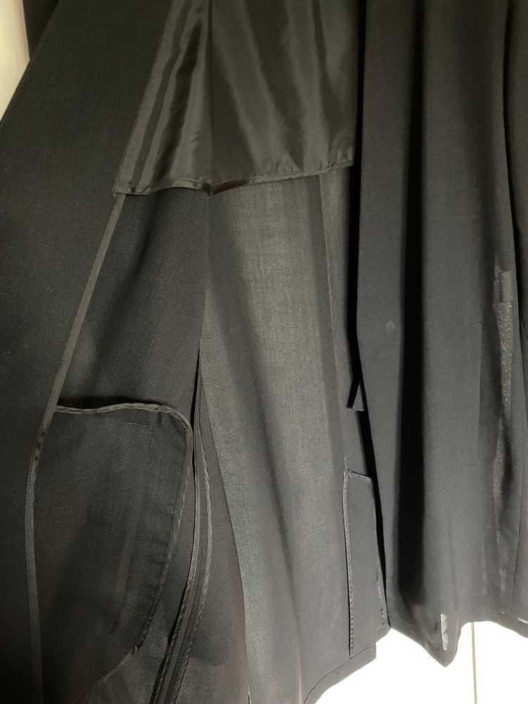 Raf Simons Raf Simons black summer coat - image 5