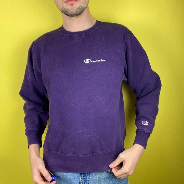 Champion × Vintage 90s Vintage Champion Sweatshirt - image 2
