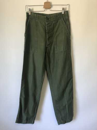 Button Up Military Utility Pants - 27