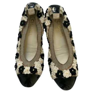 Chanel Slippers/Ballerinas in Beige