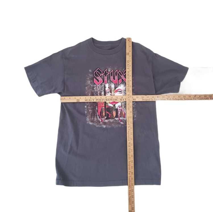 Band Tees × Rock T Shirt × Rock Tees VTG Styx Ban… - image 8