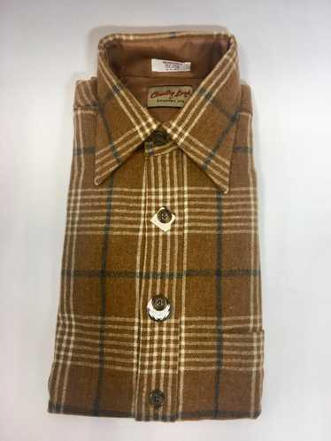 70s Wool Shirt