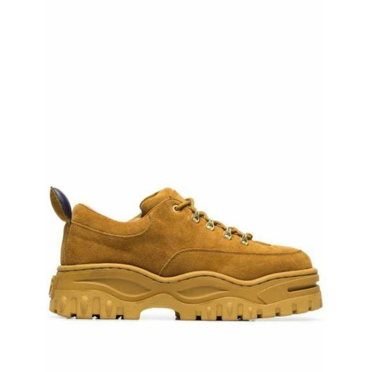 Eytys Trainers Suede in Yellow - image 3