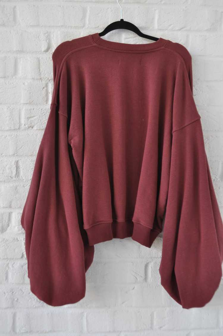 Y/ Project sweater with puffy sleeves - image 5