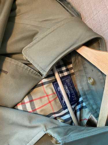Burberry Burberry vintage cloak trench coat classi