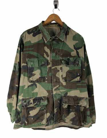 Camo × Military Vintage Military Camo Jacket - image 1