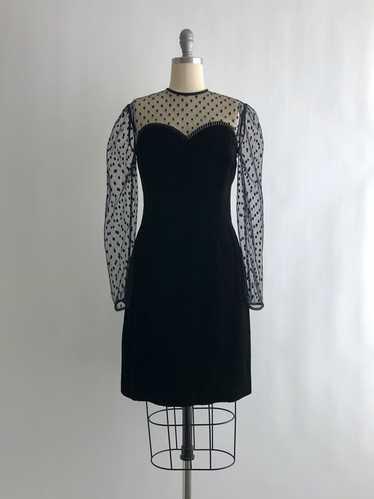 Vintage Lillie Rubin Velvet Dress