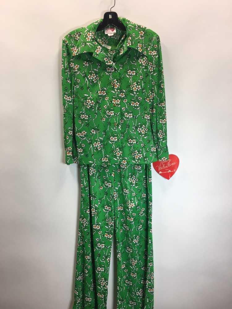 70's Palazzo pants Suit - image 2