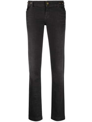 Gucci low-rise straight-leg jeans - Black