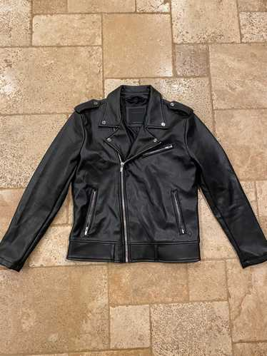 Zara Zara Faux Leather Biker Jacket