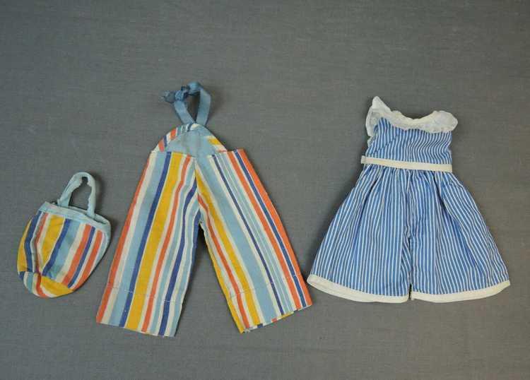 Vintage Doll Beach Pajamas & Purse and Romper, 19… - image 2