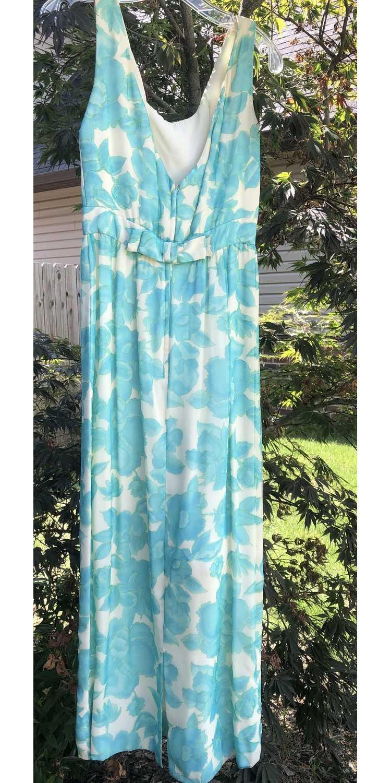 Vintage Lee Claire Maxi Dress - image 5