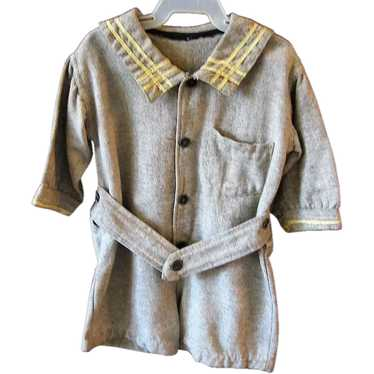 Rare Boys Brown Wool Sailor Suit Early 1900s WWI E