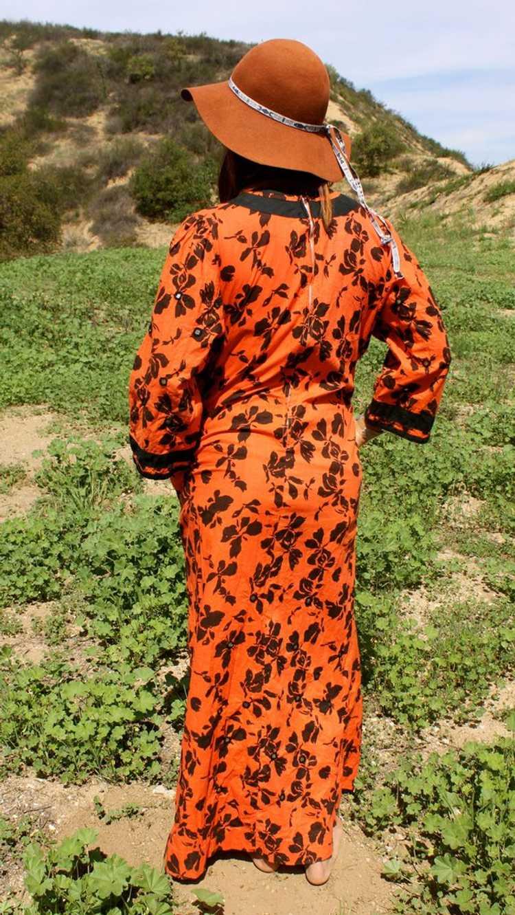 *SALE* Vintage Ramona Rull Maxi Dress - image 4