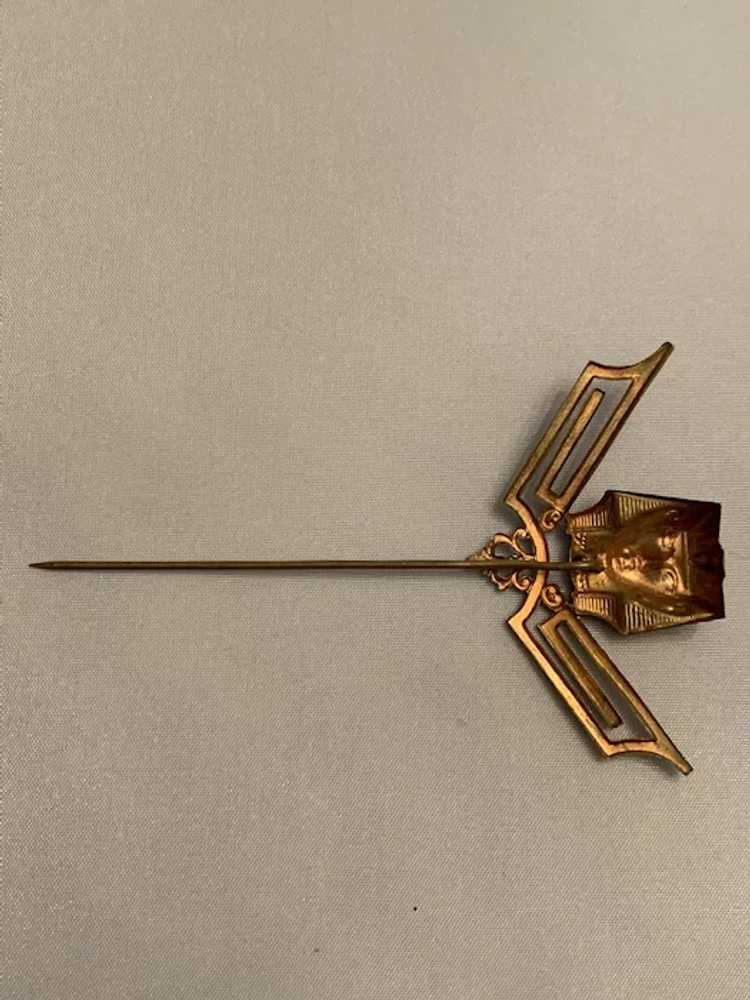 Egyptian Revival Hat Pin - image 6