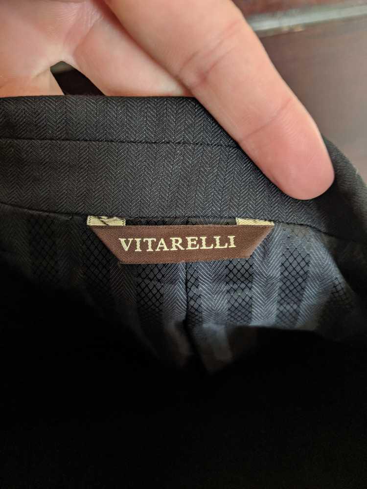 Italian × Italian Designers Vitarelli herringbone… - image 6