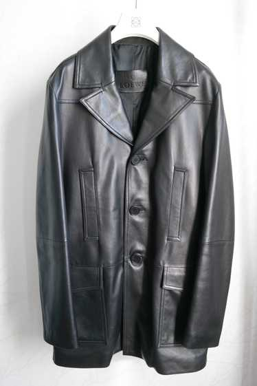 Loewe Loewe Leather Coat