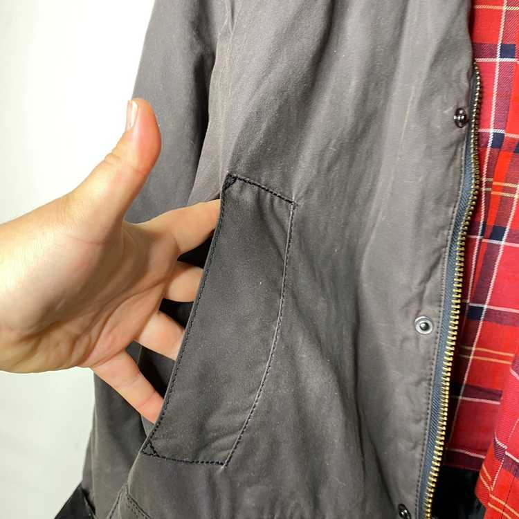 Barbour Barbour Classic Bedale brown Wax Jacket S - image 12