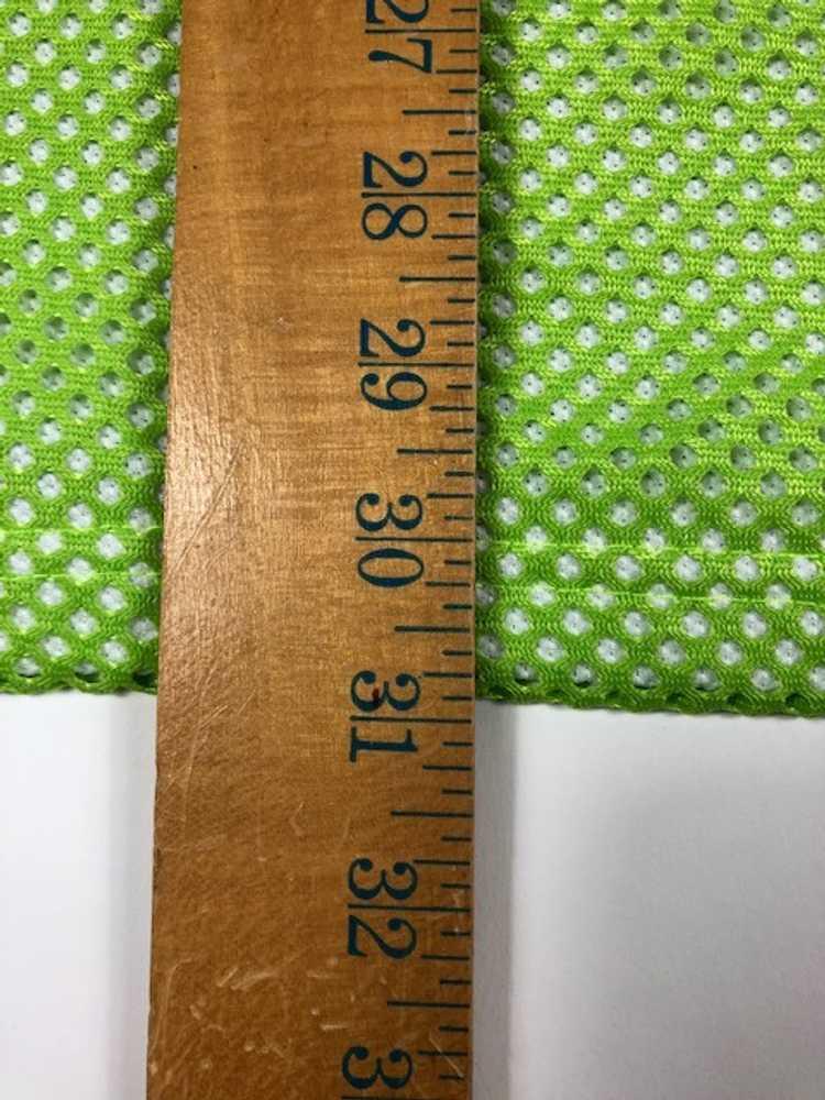 Vintage Tommy Hilfiger Flag Mesh Jersey Green Shi… - image 5