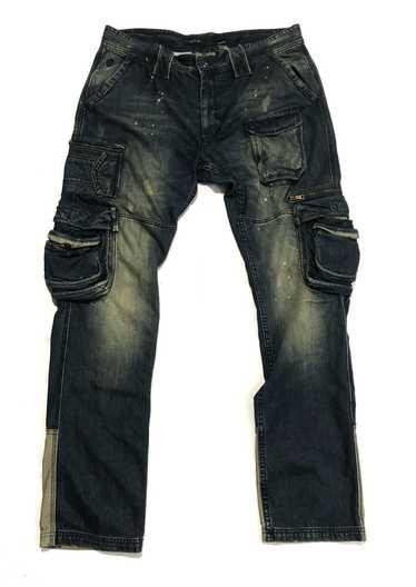 Rocawear Rocawear Distressed Multi Pocket Cargo De