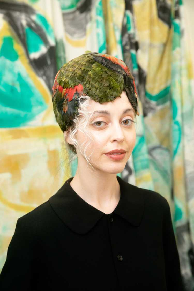 Christian Dior Feather Hat - image 3