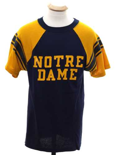 1950's Champion Unisex Champion Brand Notre Dame T