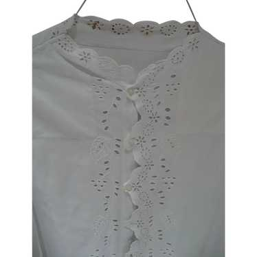 Victorian Eyelet Nightgown - image 1