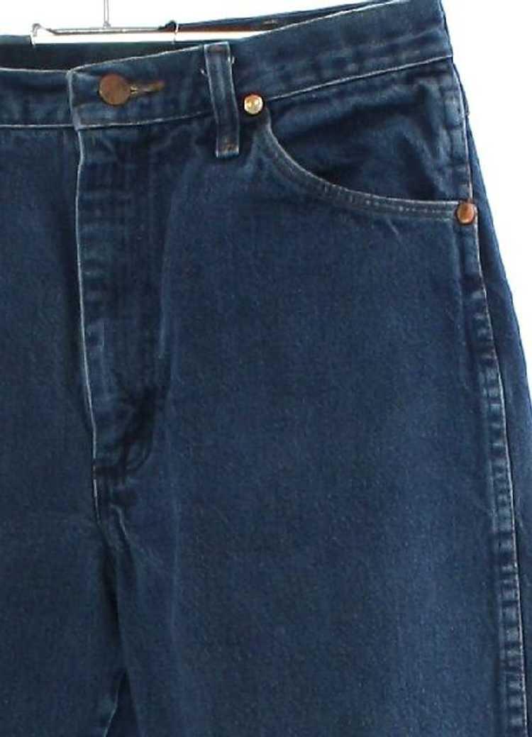 1980's Wrangler Mens or Boys Wrangler Denim Jeans… - image 2
