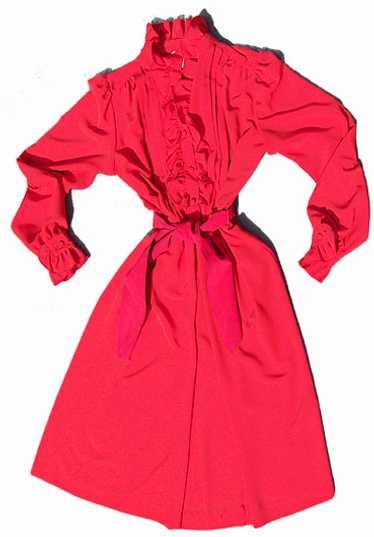 Lilli Ann ruffled dress