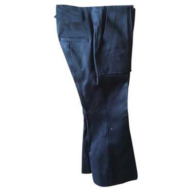 Bassike Trousers Cotton in Black