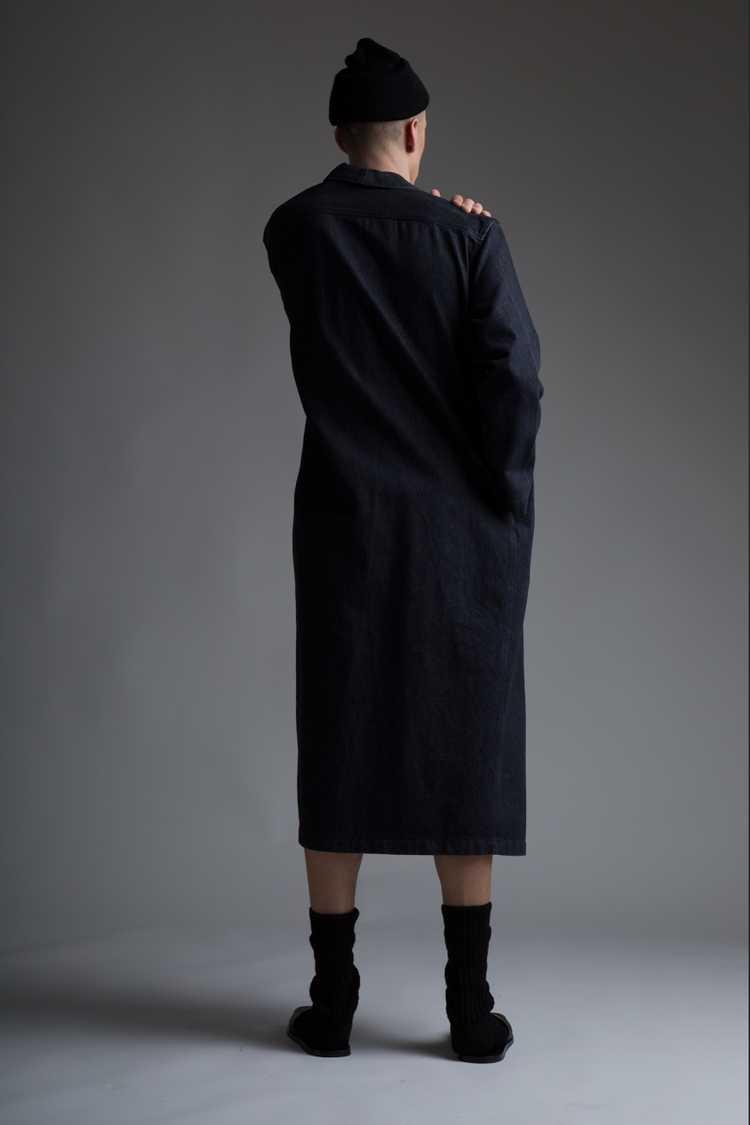 Vintage Norma Kamali Denim Coat - image 3