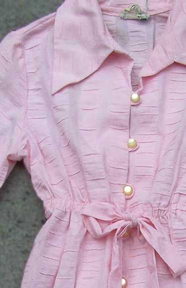 Plissé dolly dress