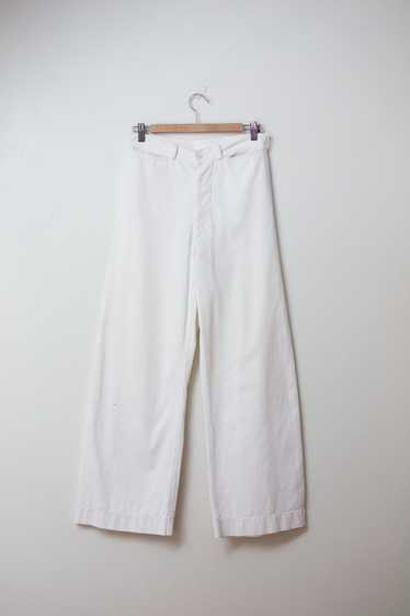 "1940s Sailor Pants | 28"" Waist"