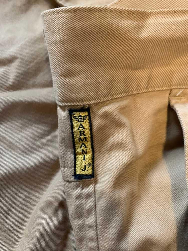 Armani Armani khaki Chino pants - image 4