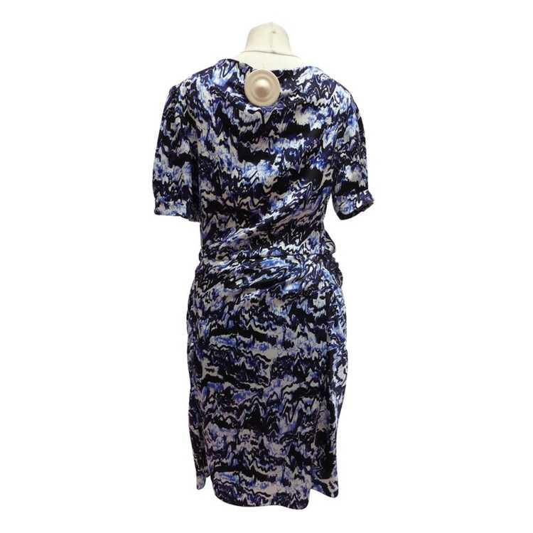 Balenciaga Silk dress with Ruffles - image 3