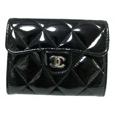 Chanel Black Leather wallet for Women