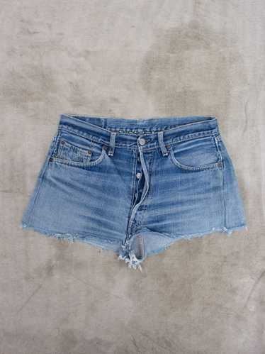 Vtg Early 1960s Levis 501 Big E Cutoffs