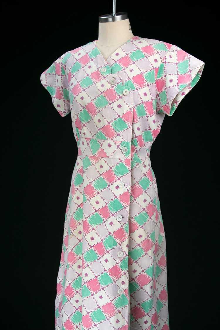 Vintage 1930's Feedsack Dress - image 8