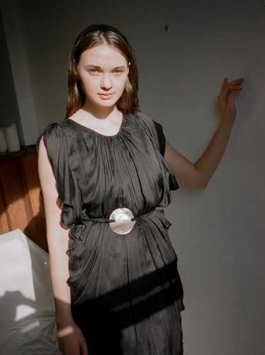 Silk Chiffon Minidress