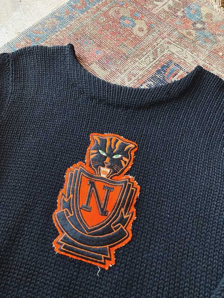 Vintage Indian Brand Varsity Sweater - Size Small - image 2