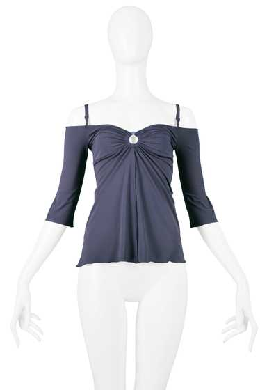 GIGLI SLATE BLUE RING TOP