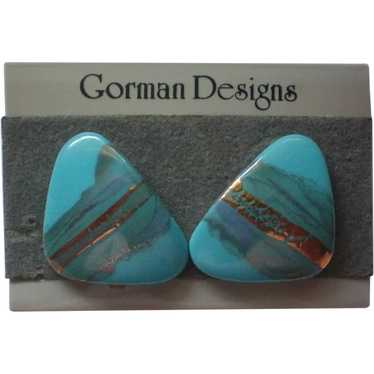 Roy Gorman Fine Ceramic Pierced Earrings
