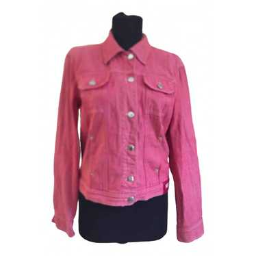 Moschino Pink Denim - Jeans jacket for Women 40 IT