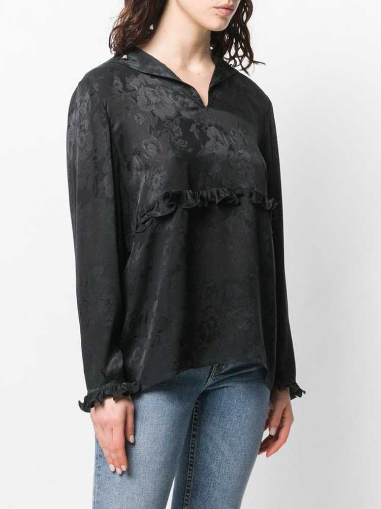 Valentino Pre-Owned 1980's rose print blouse - Bl… - image 3