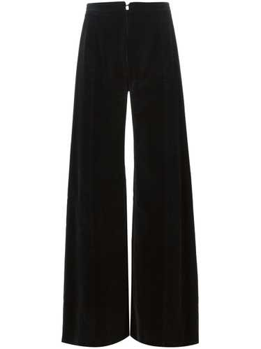 Emanuel Ungaro Pre-Owned flared trousers - Black