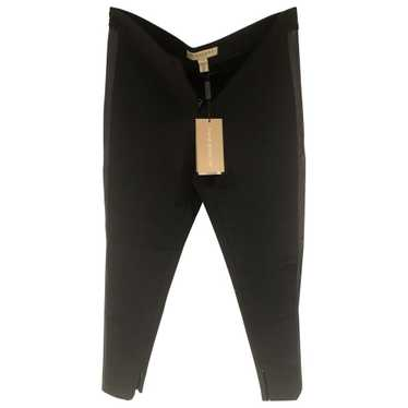 Burberry Black Trousers for Women 40 - image 1