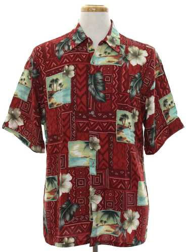 1990's Campia Mens Hawaiian Inspired Shirt
