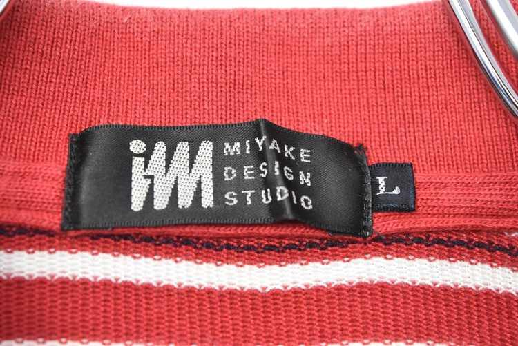 Issey Miyake ISSEY MIYAKE 90s old stripe polo shi… - image 6